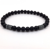 Men's Beaded Magnetic Bracelet