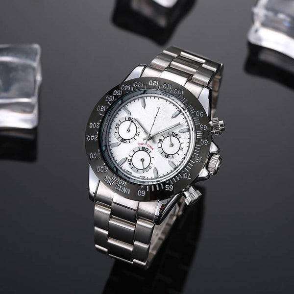 Men's Spiral Crown Watch
