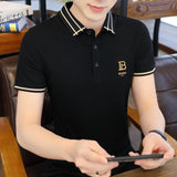Men's Short Sleeve Embroidered Polo