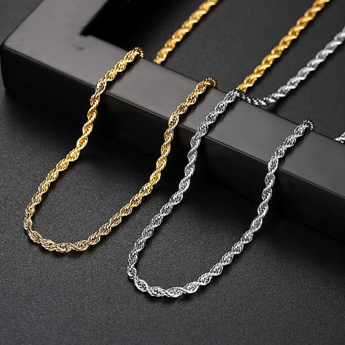 Men's 18K Gold Plated Chain