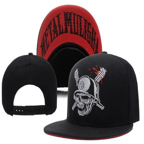 Men's Hip Hop Style Skull & Sword Cap