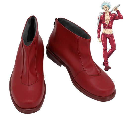 THE SEVEN DEADLY SINS Ban Cosplay Shoes