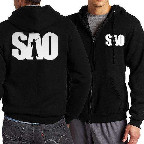 Men's Assorted Long Sleeve V-Neck Otaku Hoodies