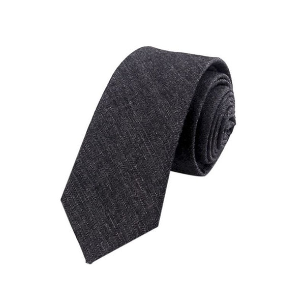 Men's Slim Plaid Formal Business Tie - Erbana 88
