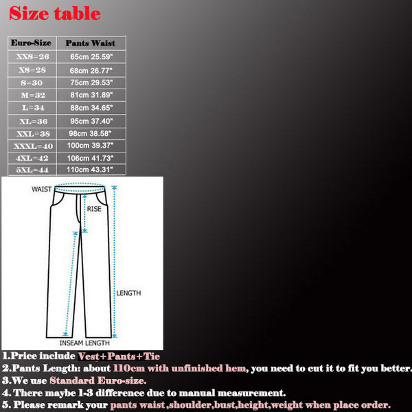 Men's Viscose Polyester Formal Business Pants