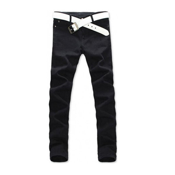 Men's Casual Designer Straight Slim Fit Jeans