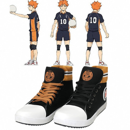 HAIKYUU'S Karasuno High School Volleyball Club Boots