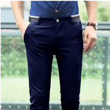 FAVOCENT Men's Mid Waist Slim Fit Dress Pants - Erbana 88