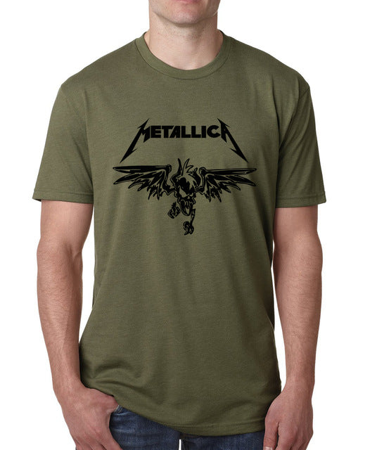 Men's Short Sleeve Metallica Tee - Erbana 88