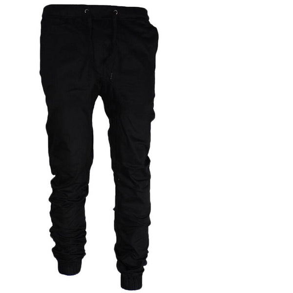 Harem Men's Slim Fit Cuffed Fitness Trousers Streetwear - Erbana 88