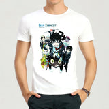 Unisex Assorted Design 'Blue Exorcist' Short Sleeve Anime Tee - Erbana 88