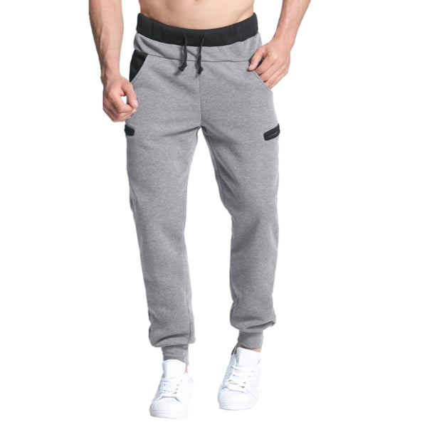 Men's Casual Vintage Polyester Baggy Joggers w/ Elastic Waist - Erbana 88