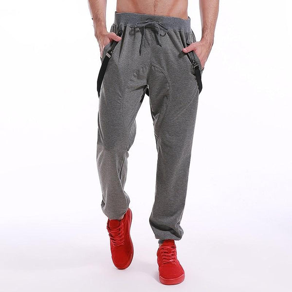 Men's Mid-weight Full Length Cotton Joggers w/ Drawstring - Erbana 88