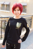 Women's Long Sleeve 'Attack On Titan' Anime Tee - Erbana 88