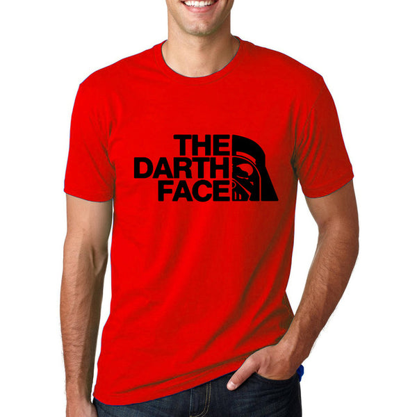 Men's Short Sleeve Star Wars 'The Darth Face' Humorous Tee - Erbana 88