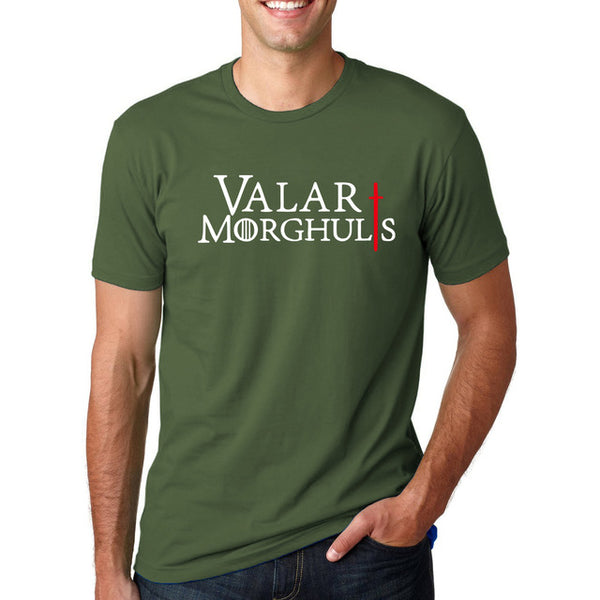 Men's Short Sleeve Game of Thrones 'Valar Morghuls' Tee - Erbana 88