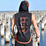Men's Sleeveless Cotton 'Assailant' Casual Hoodie