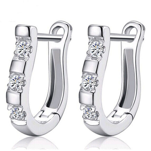 Fashion Women Ladies Girls Ear Stud Hoop Earrings - Erbana 88