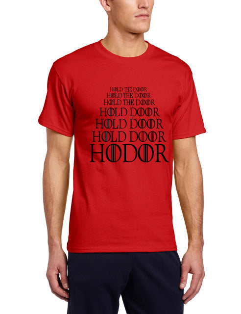 Men's Short Sleeve Game of Thrones 'HODOR' Tee - Erbana 88