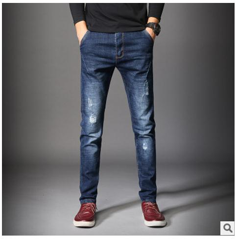 Men's Denim Slim Straight Jeans - Erbana 88