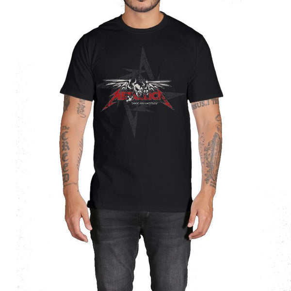Men's Hard Rock Metallica Short Sleeve Tee - Erbana 88