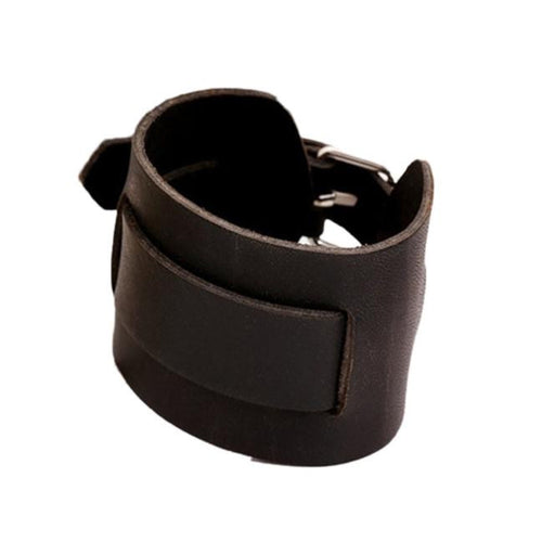 Men's Genuine Leather Cuff Wristband - Erbana 88
