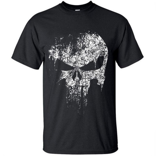 Men's Vintage Style 'The Punisher' Short Sleeve Tee - Erbana 88