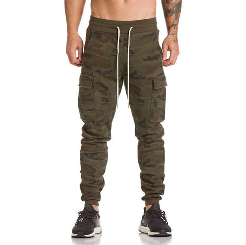 Men's Casual Baggy Joggers w/ Side Pockets - Erbana 88