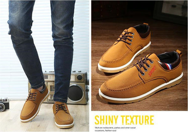 Men's Dynamic New Age Casual Style High Canvas Skater Shoes