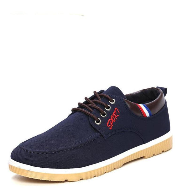 Men's Dynamic New Age Casual Style High Canvas Skater Shoes - Erbana 88