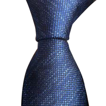 Men's Slim Plaid Formal Business Tie
