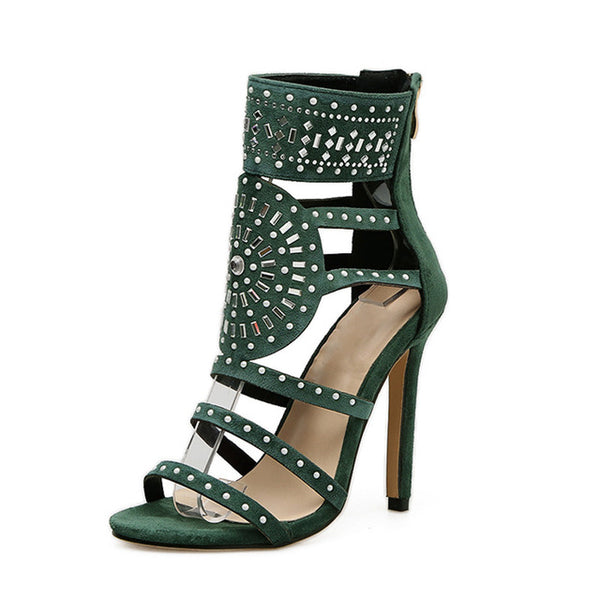 Women's Vintage Style Ankle Length High