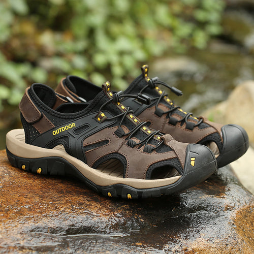 Men's Multi-Terrain High Quality Non-Slip Leather Shoes - Erbana 88