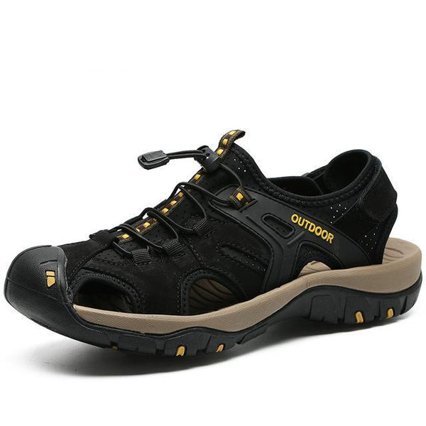 Men's Multi-Terrain High Quality Non-Slip Leather Trekking Sandals