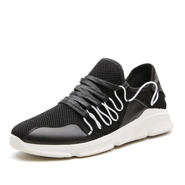 Men's Non Slip Casual Breathable Sneakers w/ Intricate Lace Design - Erbana 88
