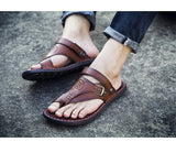 Men's Easy Adjustable Multi Fit Retro Style Gladiator Sandals - Erbana 88