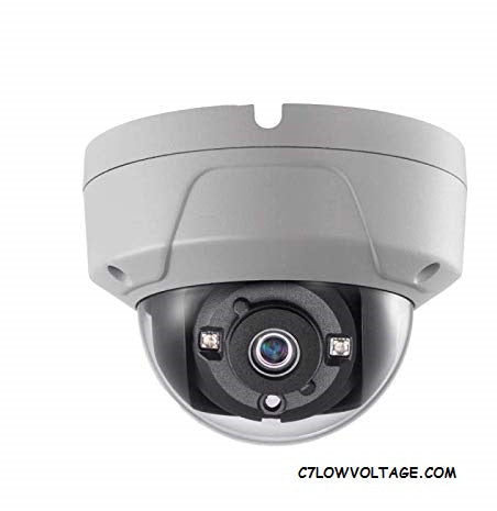 ENS ESAC318-OD/28 8MP EXIR DWDR Outdoor analog Dome Camera with 2.8mm fixed lens, BNC Connection