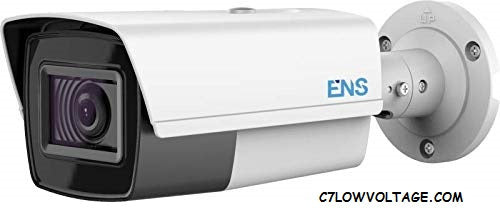 ENS SCC48B8/MZ-K 8MP IR WDR TVI/AHD/CVI/CVBS HD Outdoor Bullet Camera with 2.7-13.5mm motorized varifocal lens, BNC Connection
