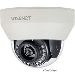 Hanwha Techwin HCD-7010RA 4MP Wisenet HD+ Indoor Dome Camera , 2.8mm fixed lens BNC Connection