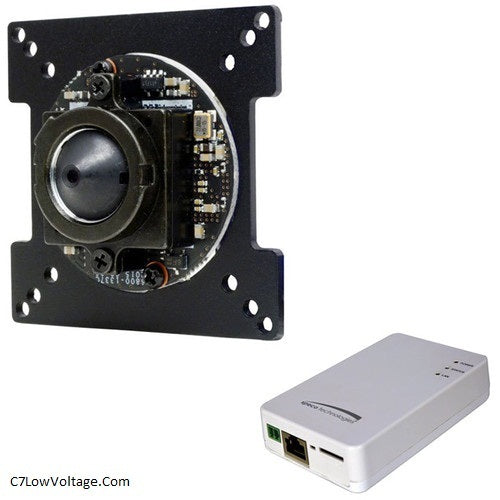Speco Technologies O2IBD3 Intensifier 2MP Network Board Camera ,2.9mm fixed lens and 3.6mm pinhole lens included .RJ45 Connection .