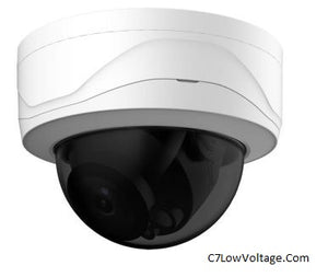 Dahua Oem IPC-MD244E-IR-3.6mm , 4MP WDR IR Outdoor Mini-Dome Network Camera 3.6mm Fixed lens , RJ45 Connection