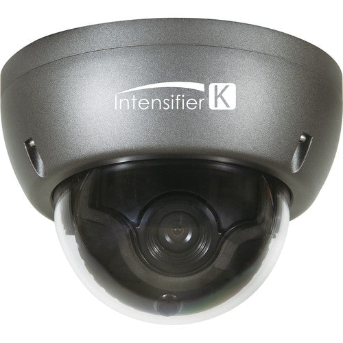 Speco Technologies HTINT59K 1000 TVL INTESIFIER DOME CAMERA WITH JUNCTION BOX , BNC Connection