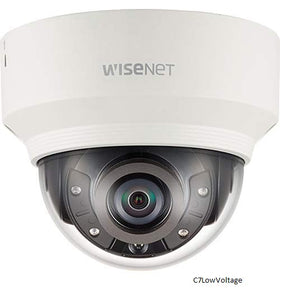 Hanwha Techwin XND-6020R 2MP Indoor IR Vandal network Dome camera, Built-in 4mm fixed lens, RJ45 connection