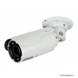 American Dynamics IFS03B1ONWIT 3 MP Network Illustra Flex Bullet Camera, 2.8-12mm Lens