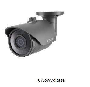 Hanwha Techwin HCO-6020R HD+ 2MP Analog HD Bullet Camera with Night Vision . 4.0mm lens , BNC Connection .