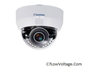 Geovision GV-FD8700-FR 8MP WDR IR PoE network Dome Camera with 3.3~12mm Lens RJ45 Connection