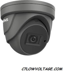 ENS SCC35T4/GMZ-H 5MP IR DWDR TVI/AHD/CVI/CVBS HD Outdoor analog Dome Camera with  2.7 mm to 13.5 mm motorized vari-focal lens, BNC Connection.