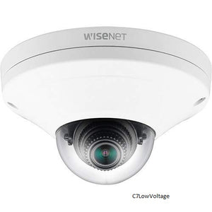 Hanwha Techwin XNV-6011W 2MP Vandal-Resistant Network Dome Camera, 2.8mm fixed lens, IK10/IP66, RJ45 connection