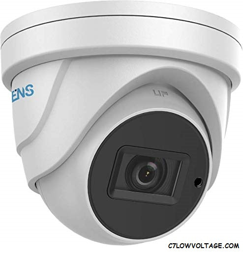 ENS SCC52T7/MZ-M Starlight 2MP WDR IR Ultra Low Light TVI/AHD/CVI/CVBS Analog Dome Turret Camera with 2.7~13.5 mm motorized varifocal lens, BNC Connection.