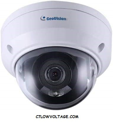GEOVISION GV-ADR2702 2MP IR PoE Mini Fixed Rugged Network outdoor Dome camera with 2.8mm lens RJ45 Connection